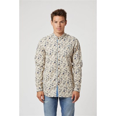 Lee Cooper - Distreo - Chemise manches longues - ivoire