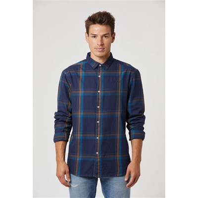Lee Cooper - Digdy - Chemise manches longues - bleu marine
