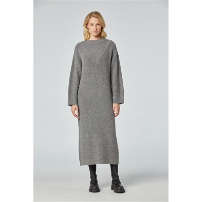 Sinéquanone - Resarie - Robe pull - gris