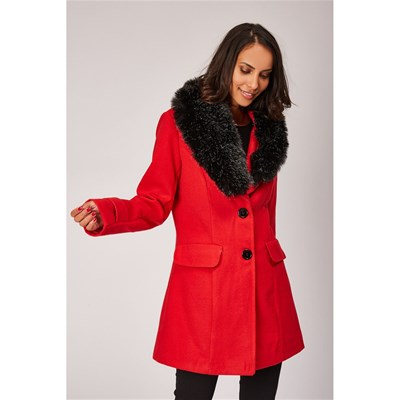 Made in Italy - Manteau - coquelicot