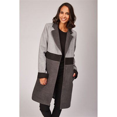 Made in Italy - Manteau - gris