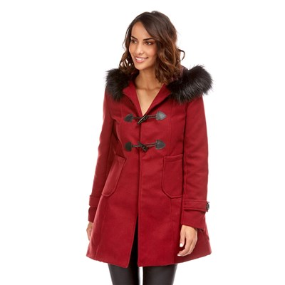 MADE IN ITALY Asia - Manteau - bordeaux