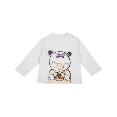 Chicco - T-shirt manches longues - naturel