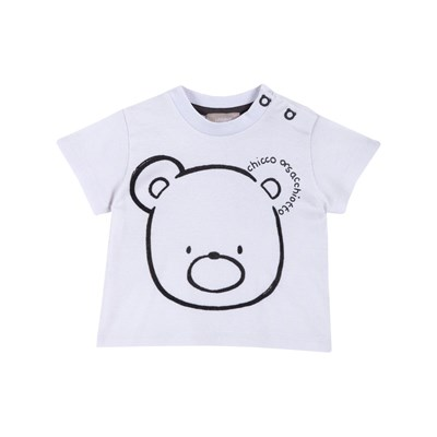 Chicco - T-shirt manches courtes - blanc