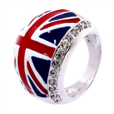 Bague À dames l'english - bague - multicolore