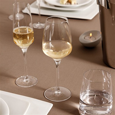 GUY DEGRENNE Muse - Lot de 6 Verres - à vin en cristalin 64.5 cl