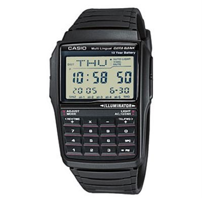 Casio Casio data bank - montre digitale - noir