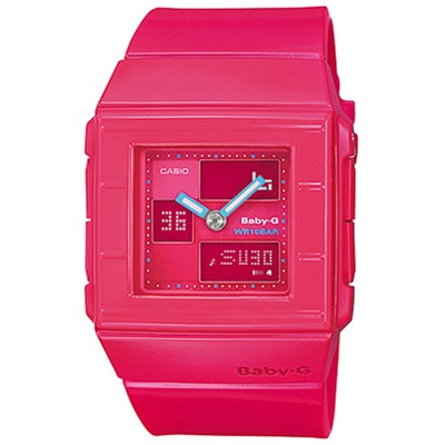 Casio Baby-G - montre mixte - rose