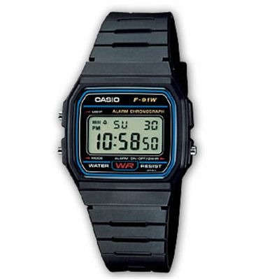 CASIO Casio Collection Retro - Style sport - noir