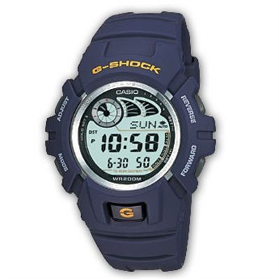 Casio G-Shock - Type : chrono - bleu