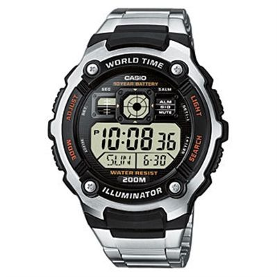 Casio Collection - montre digitale - acier