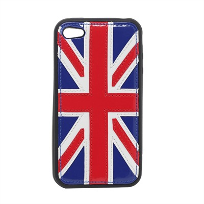 ADAPTABLE Royaume Uni - Coque iPhone4/4S - tricolore