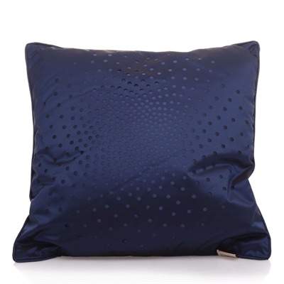 la compagnie des etoffes de paris coussin bleu marine bleu brandalley. Black Bedroom Furniture Sets. Home Design Ideas