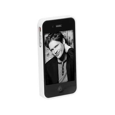 ABS - Coque iPhone 4 - blanc