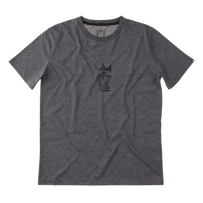MOSKOVA Scratch King - T-shirt - gris