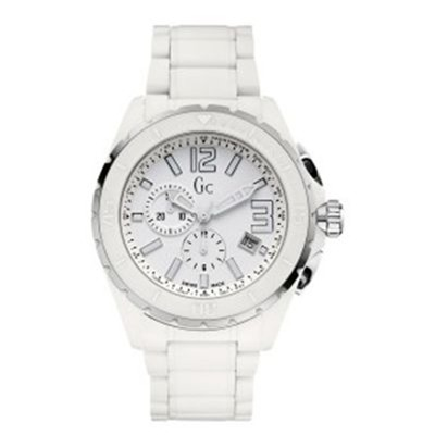 Guess Collection montre bracelet en céramique blanche