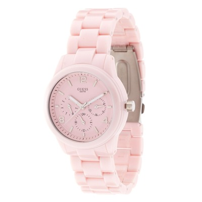 GUESS Montre bracelet céramique rose