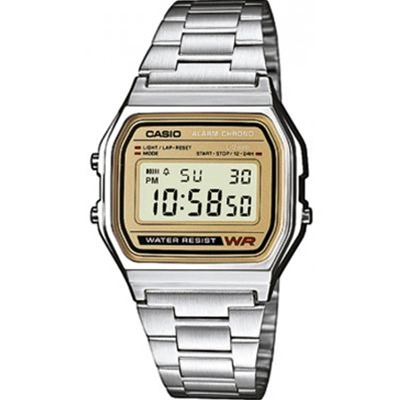 CASIO Casio Collection Retro - Style sport - acier