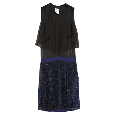 DRESS GALLERY Nelia - Robe 2 en 1 - bleu marine