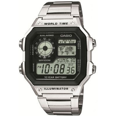 Casio Collection - Type : chrono - acier